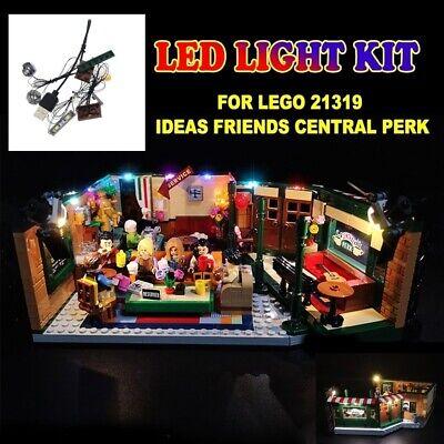 LED Light kit for LEGO Friends Central Perk 21319 Building Blocks Bricks DIY