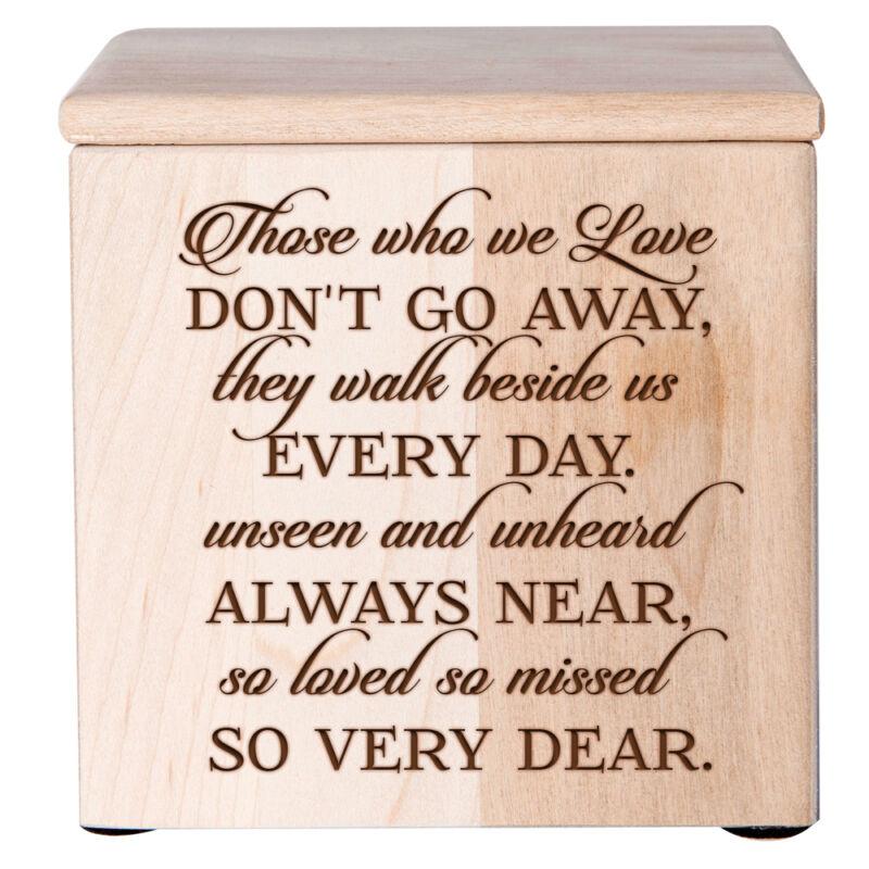 Medium Cremation Urn For Human Ashes Memorial Keepsake Box