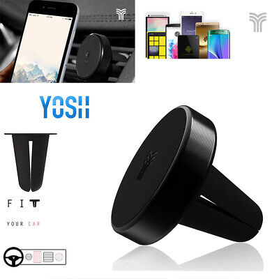 YOSH Magnetic Air Vent Car Phone Holder For Mobile Phone GPS Fits iPhone Huawei
