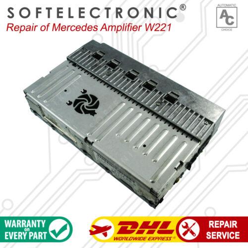 Mercedes w221 w216  Amplifier Repair