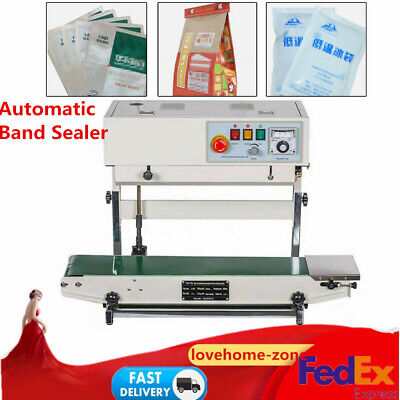 Automatic Continuous Band Sealer Horizontal Vertical Bag Sealing Machine Useful