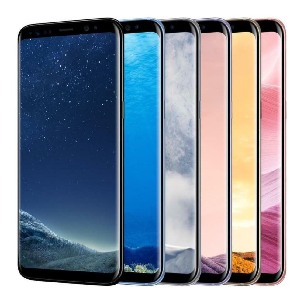 Android Phone - Samsung Galaxy S8 - G950U - Unlocked; Verizon / AT&T / T-Mobile / Metro PCS