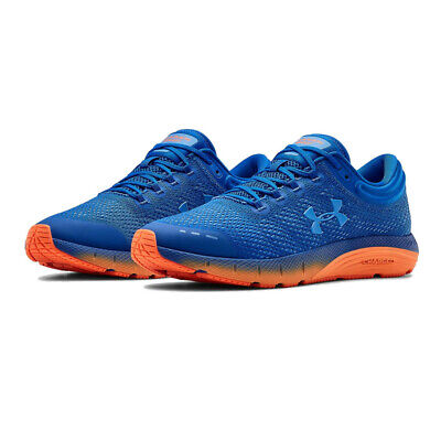 Under Armour Mens Charged Bandit 5 Running Shoes Trainers Sneakers - Blue Orange