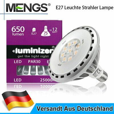 Par30 Spot (PAR30 PAR38 E27 Leuchte Strahler Spot LED 12WW=75W/15W=100W COB Energiesparlampe)