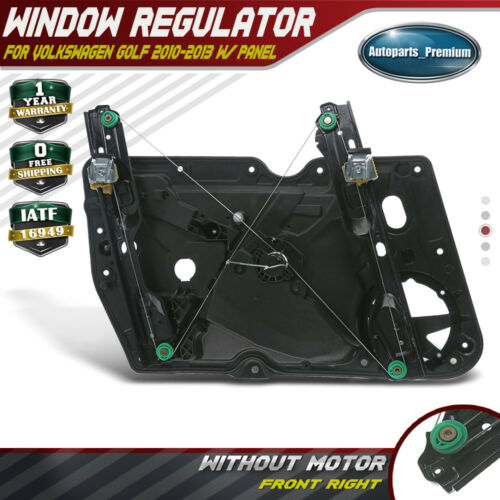 A-Premium Power Window Regulator and Door Panel without Motor For Volkswagen Beetle 1998-2010 Front Right Passenger Side