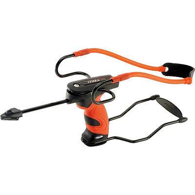 New BARNETT COBRA High Power Slingshot Catapult With Sight & Free Practice Ammo