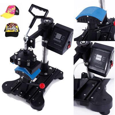 6 X 3 Digital Transfer Cap Hat Heat Press Machine 110v 150w Diy Print Pattern