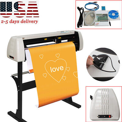 28 Inch Plotter Machine Vinyl Cutter Plotter Sign Cutting Plotter Toolstand Usa