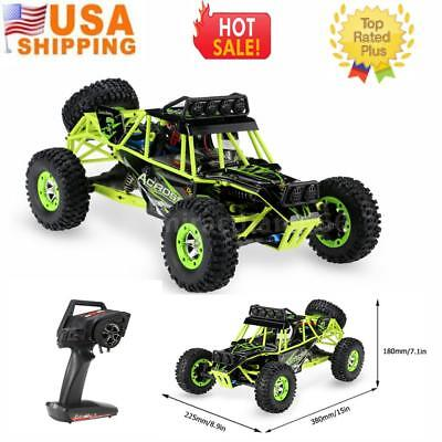 WLTOYS 12428 1/12 2.4G 4WD ELECTRIC BRUSHED CRAWLER RTR RC CAR BEST GIFT USA