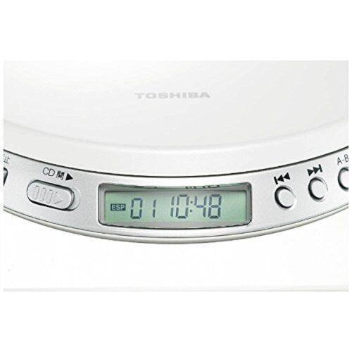 как выглядит NEW Portable with Toshiba speed control CD player TOSHIBA TY-P1-W With Tracking фото