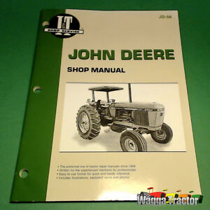 JD56 Workshop Manual John Deere 2840 2940 2950 Tractor can also use for JD 3130