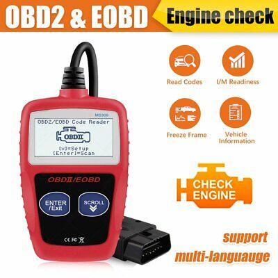 Scanner Diagnostic Code Reader MS309 OBD2 OBDII Car Diagnostic Tool US Stock