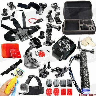 Sports Action Camera Accessories Kit for Gopro HERO 5 3+ 4 SJ4000 SJ5000 SJ6000