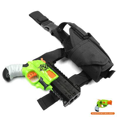 MaLiang 3D Print Handgun Barrel Holster Combo for Nerf Double Strike Modify Toy