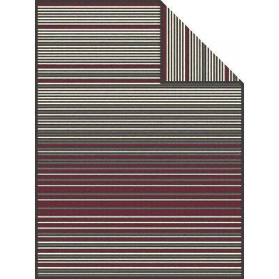 Ibena Esbjerg Striped Luxury Throw