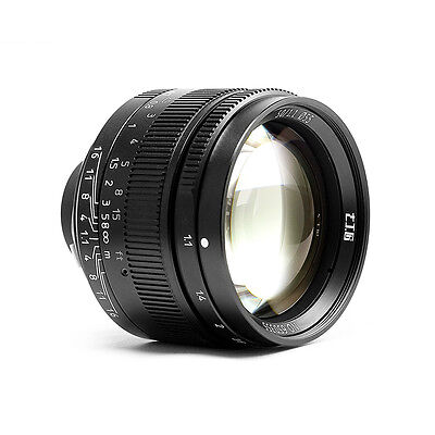 Instock 7artisans 50mm F1.1 Leica M Mount Fixed Lens for Leica M-Mount Cameras