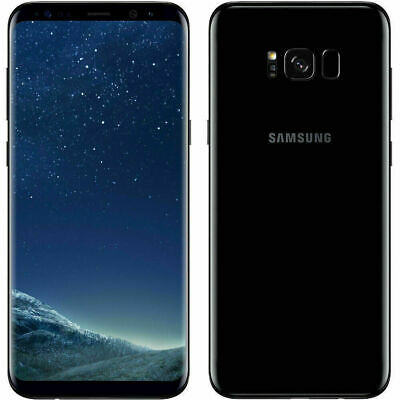 Samsung Galaxy S8+ Plus - 64GB - Black (Unlocked) Smartphone - Grade A