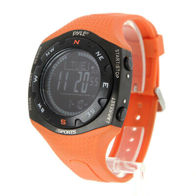 Pyle-Sports Ski Master Watch - Weather Forecast - Digital Compass - -