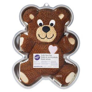 Wilton Teddy Bear Cake Pan - Novelty Birthday Cake Pan/Tin
