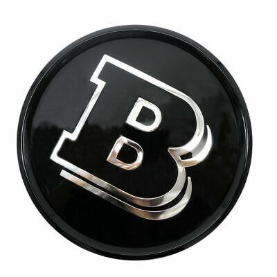 Für Mercedes Brabus Stil Ein B C Cla E Gla Klasse Gitter Emblem Logo Schwarz
