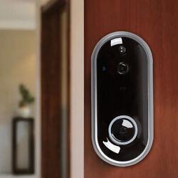 Door Bell WiFi Wireless Video Doorbell HD Camera Smart Security w/ Alarm Clock