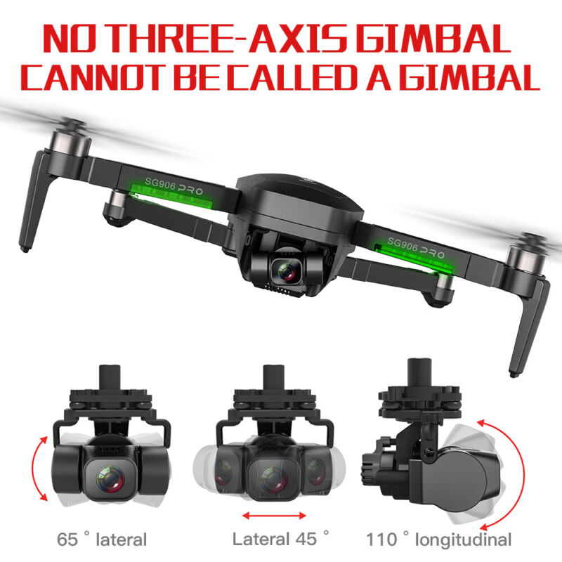 2020 SG906 Pro 2 FPV 3-axis Gimbal 4K Camera 5G Wifi GPS RC Drone Quadcopter