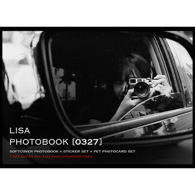 BLACKPINK LISA PHOTOBOOK 0327 LIMITED EDITION Book+Sticker SET+Photocard SET+TR