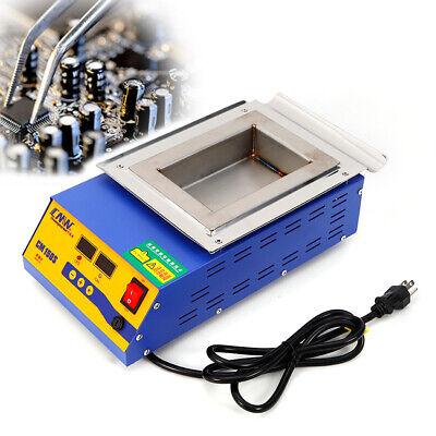 Ac110v 900w Lead-free Solder Pot Solder Machine Soldering Melting Tin Cans Usa