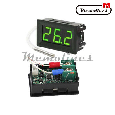 B310 Digital Green Led Display Thermometer Temperature Meter K-type Thermocouple