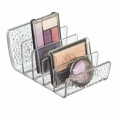 iDesign Makeup Organiser with 5 Compartments, Small Dressing Table Organiser Ma