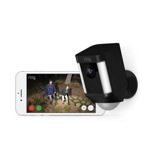 Ring Spotlight Cam Wire-free Black 8SB1S7-BEN0