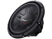 Pioneer 12 Inch 400W RMS 1400W DVC 4 Ohms Car Subwoofer Bass Speaker