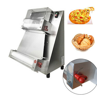 Stainless Steel Pizza Dough Roller Machine Pizza Making Machines Dough Sheeter