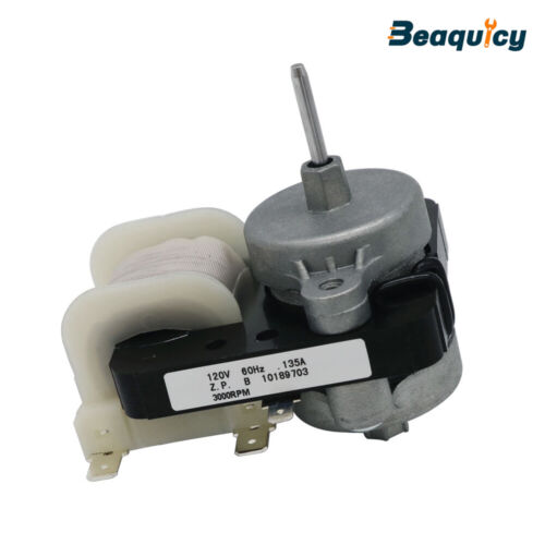 W10189703 Refrigerator Evaporator Fan Motor Fit for Whirlpool Kenmore Amana
