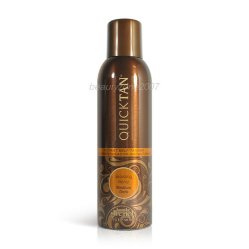 Body Drench Quick Tan Bronzing Spray Medium Dark 6 oz Sunless Tanner Self-Tanner