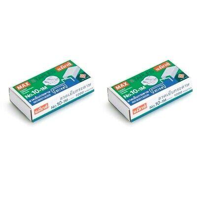 2 Boxes Staples Max No.10-1m 2000 Qty Swingline Tot 50 Mini Stapler Paper Craft