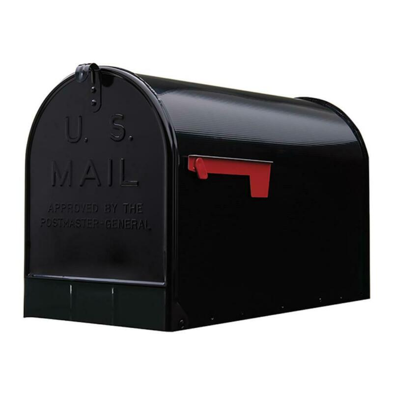Heavy-Duty Extra Large Mailbox Galvanized Steel XL Jumbo Post Mount Big Mail Box
