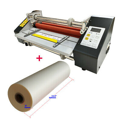 Electric A3 12.8 Inch High Speed Hot Cold Roll Laminator Machine With Film