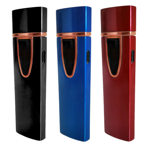 Electric Lighter Flameless Windproof Coil Lighters Cigarette Torch Rechargeable