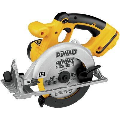 DEWALT 18V XRP 6-1/2 in. Circular Saw (Tool Only) DC390B New