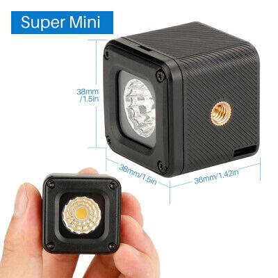 Ulanzi L1 Waterproof LED Video Light for Canon GoPro Hero DSLR DJI Yuneec Drones