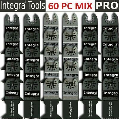 60pcs Oscillating Multitool Saw Blade Fits Fein Makita Bosch Ridgid Multimaster