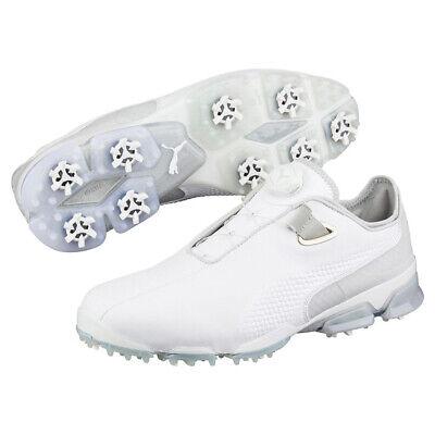 Puma TitanTour Premium Disc Leather Golf Shoe RRP £149.99