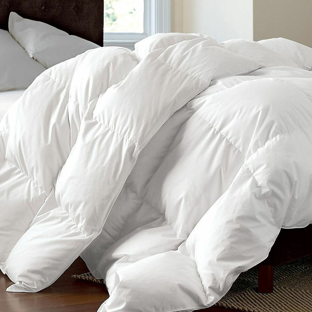 LUXURY HOTEL QUALITY DUCK FEATHER & DOWN DUVET QUILT 13.5 TOG