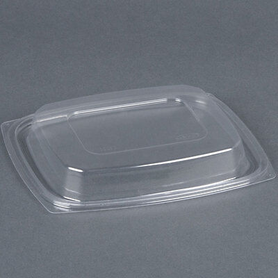 Dart C32DDLR, ClearPac Clear Rectangular Dome Plastic Lid, 504/Cs Dart Clear Dome