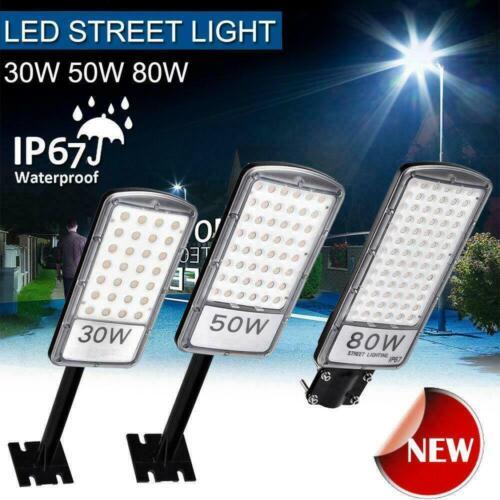 LED Straßenlampe Straßenbeleuchtung Hofbeleuchtung Straßenleuchte Laterne