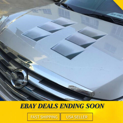 Car Parts - NEW 3D Decoration Hood Fender Vent Air Stikcer Decal Car Part Accessories 1PACK