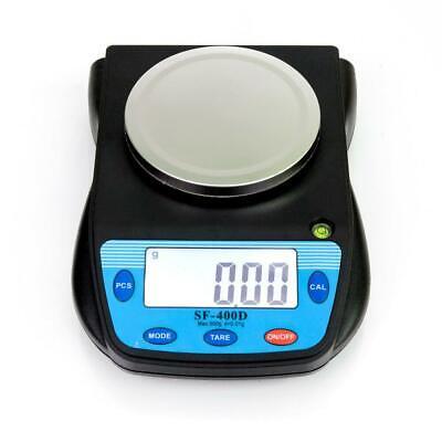 Lcd Lab Analytical Balance Digital Precision Scale 500g X 0.01g Sf-400c 1.1lb