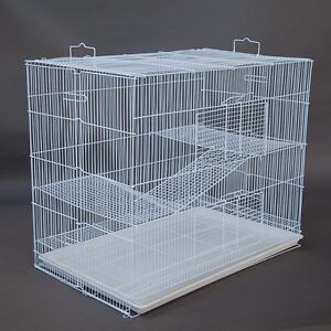 3 Tier Pet Cage for Cat Ferret Guinea Pig Hamster Rat Chinchilla Padstow Bankstown Area Preview
