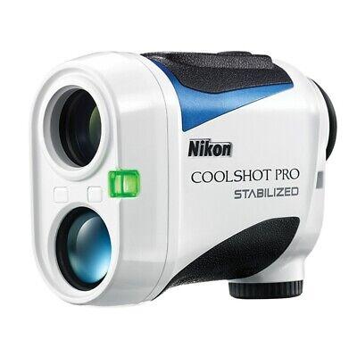 NEW Nikon 2018 Coolshot Pro Stabilized Golf Laser Rangefinde
